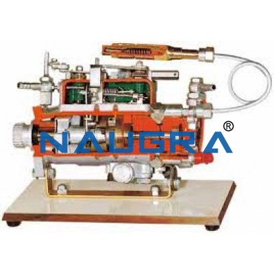 Rotary injection pumps