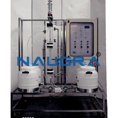 Liquid Extraction Pilot Plant With Rotating Disc Column