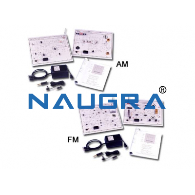 AM- FM Transmitter and Receiver System