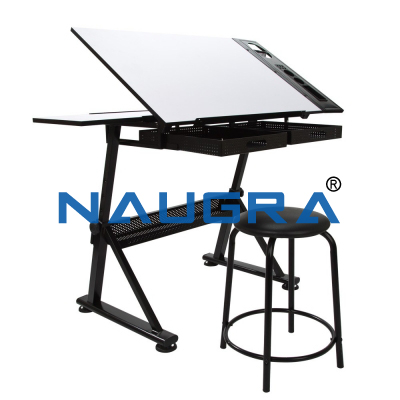 DRAFTING TABLE AND CHAIR SET