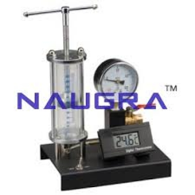 Perfect Gas Laws Demonstration Unit