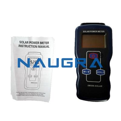 Solar Radiation Intensity Measurement Device