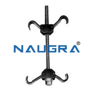 Single piece coil spring Compressor