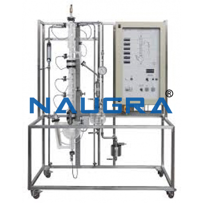 Manual Liquid-Liquid Extraction Pilot Plant With Raschig Rings