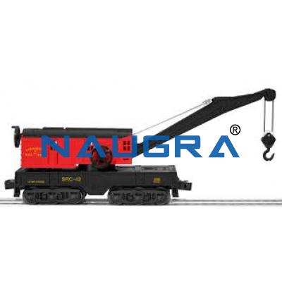 Diesel Electric Rail Crane/ Track/ Rail Car With Rail Crane.