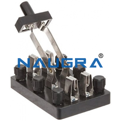DPDT knife switch box type