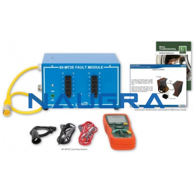 Electric Motor Troubleshooting Learning System