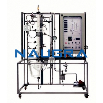Continuous Distillation Pilot Plant With Data Acquisition