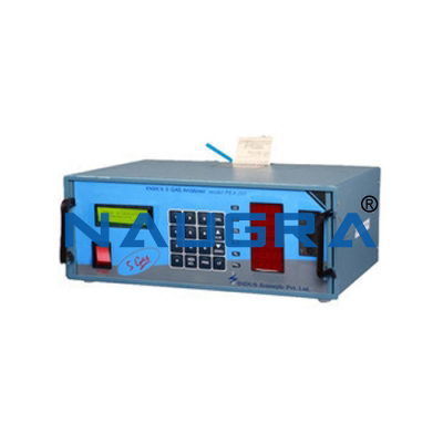5 Gas Exhaust Gas Analyzer