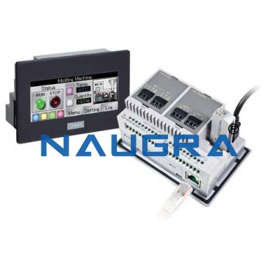 PLC With HMI Automation