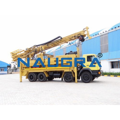 Drilling Rig with Auto Loading Arrangement