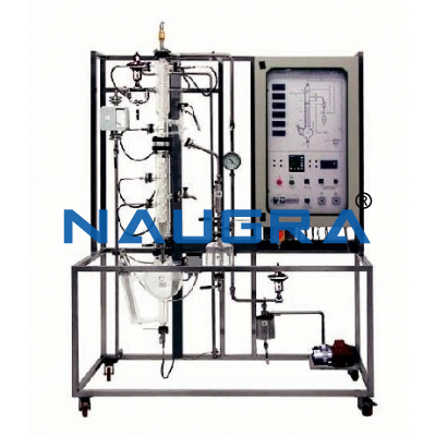 Manual Continuous Distillation Pilot Plant