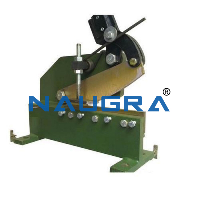 Geared Heavy Shearing Machine