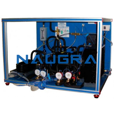 Refrigeration And Air Conditioning Unit One Condenser Air And Two Evaporators Water And Air