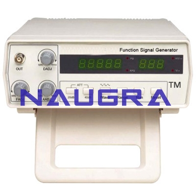 FUNCTION GENERATOR (MAX : 25 MHz