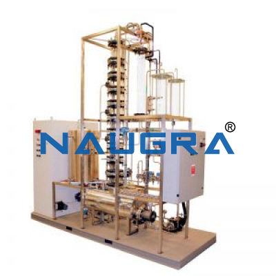 Binary Distillation Trainer With DCS Control