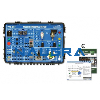 Portable Electric Motor Control Learning System