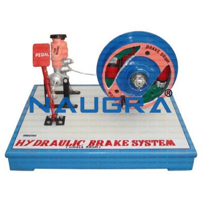 Model Of Hydraulic Braking System With Vacum Booster (Tata Indica)