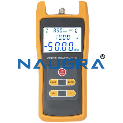 OPTICAL LOSS TEST SET (POWER METER AND LIGHT SOURCE METER)