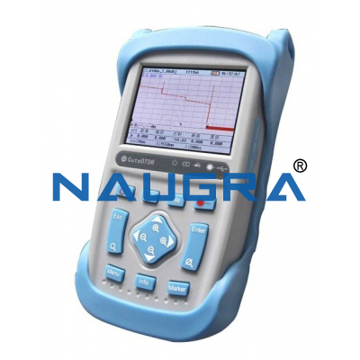 MINI OPTICAL TIME-DOMAIN REFLECTOMETER (OTDR) COMPLETE WITH BARE FIBER