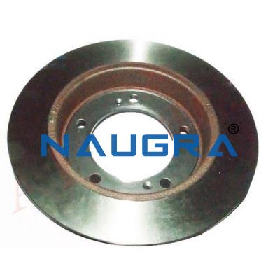 Disk And Drum Brake Cutaway