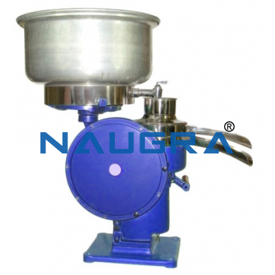 Hand Cum Electric Milk Cream Separator Machine 550 Ltr. Hr