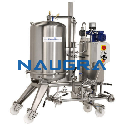 Rotating Drum Continuous Filtration Plant