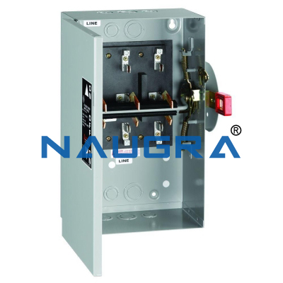 DOUBLE BUSBAR WITH FOUR DISCONNECTORS