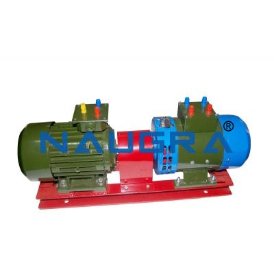 Dc shunt motor DC compound generator set