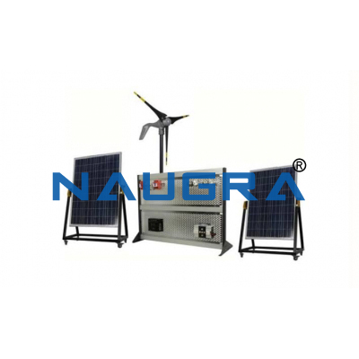 Wind Energy Modular Trainer With Motor Drive For Indoor Use