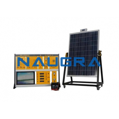 Solar Energy Modular Trainer With Connection To Mains