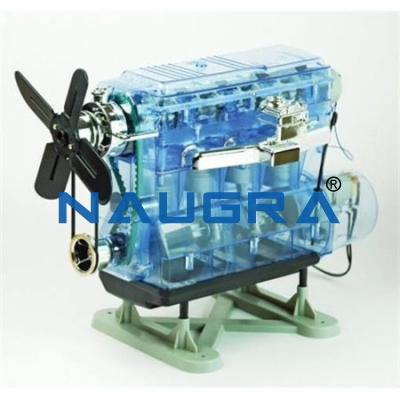 Transparent Internal Combustion Engine