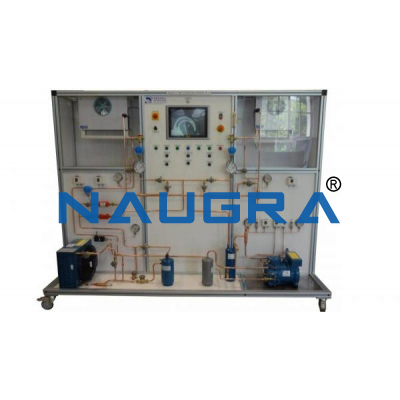 One Evaporator And A Semi Hermetic Compressor With Fault Simulation