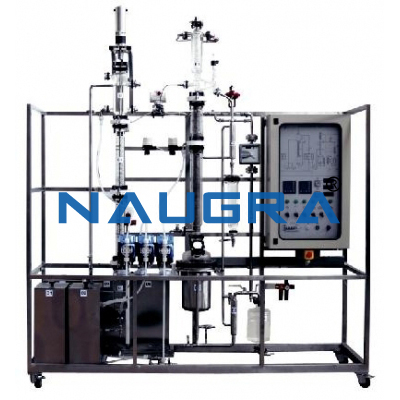 Manual Liquid-Liquid Extraction Pilot Plant With Rotating Disc Column