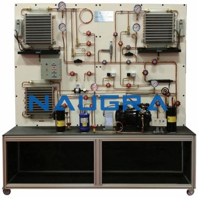 Two Evaporators And Semi Hermetic Compressor