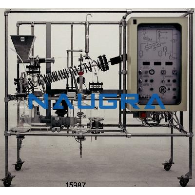 Manual Solid Liquid Extraction Pilot Plant