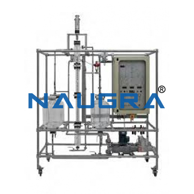 Liquid-Liquid Extraction Pilot Plant With Raschig Ring Packing