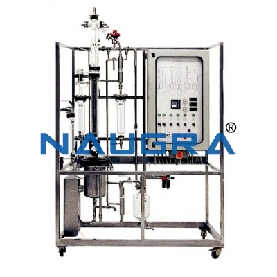 Manual Bioethanol Production Plant With Data Acquisition