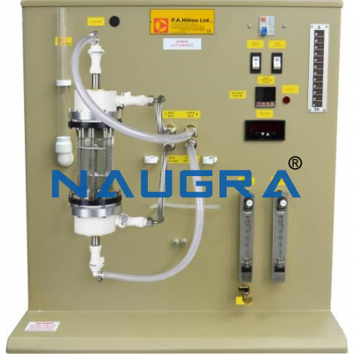 Water And Water Turbulent Flow Heat Transfer Unit