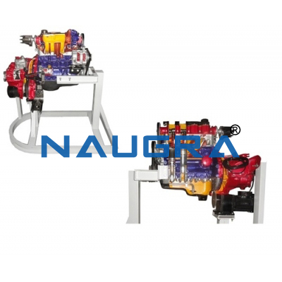 Cut Section Model Of Air Brake System (Non Working)