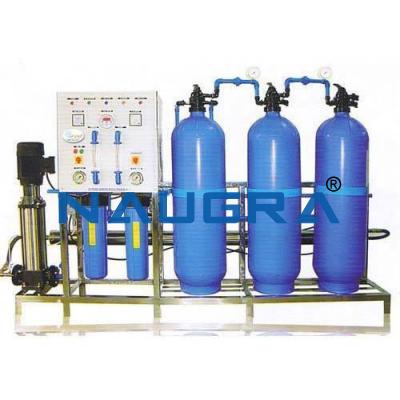 Ionic Exchange Demineralization Plant