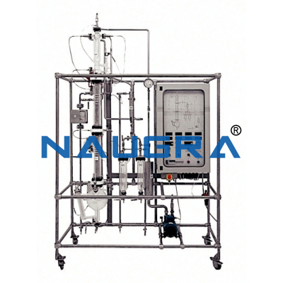 Manual Batch Distillation Pilot Plant with Data