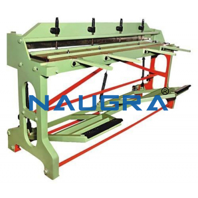 Threadle Shearing Machine- Manual Foot Operated