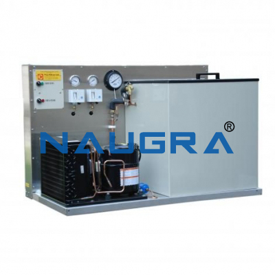 Refrigeration System with Two Stage Compression