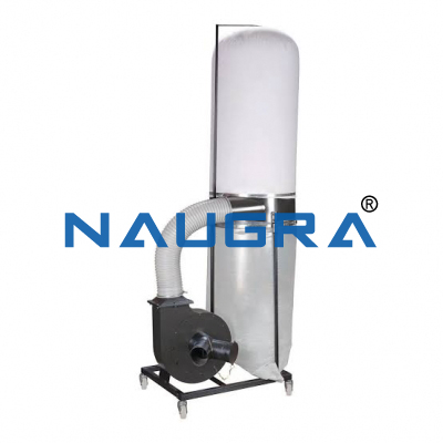 PORTABLE DUST COLLECTOR 5HP