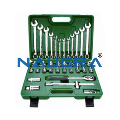 Auto Repair Tool Set With Tool Box Large