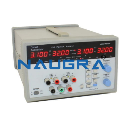QUAD OUTPUT BREADBOARD AC-DC POWER SUPPLY