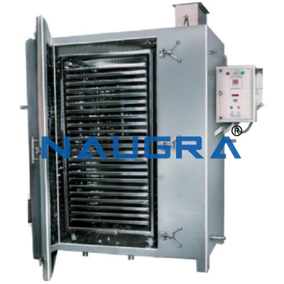 Manual Tray Dryer Process Unit