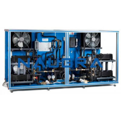 Refrigeration And Air Conditioning Unit One Condenser Water And One Evaporator Water