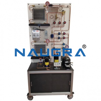 Trainer On Domestic Refrigerators With One Evaporator And Hermetic Compressor